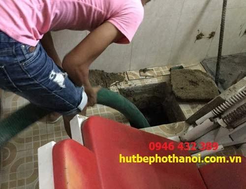 Hút bể phốt tại Ba Đình