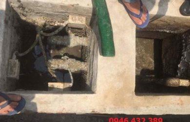 hút bể phốt tại Cầu Giấy