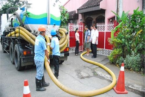 hút bể phốt tại Hoàng Mai