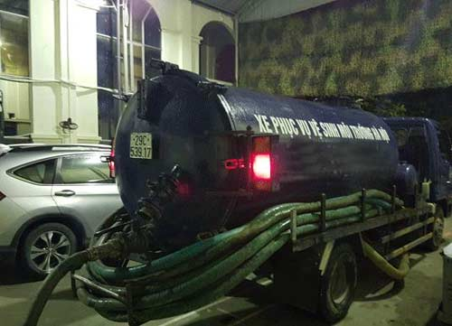 dịch vụ hút bể phốt tại Tương Mai