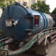 hút bể phốt tại Long Biên