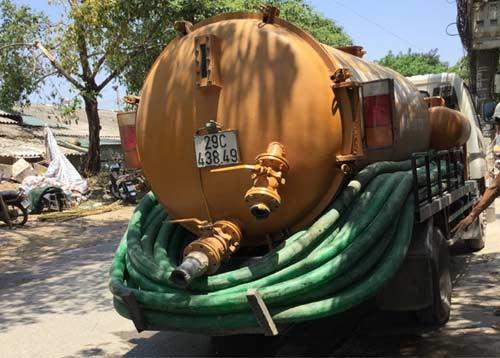 Hút bể phốt tại Trần Thái Tông