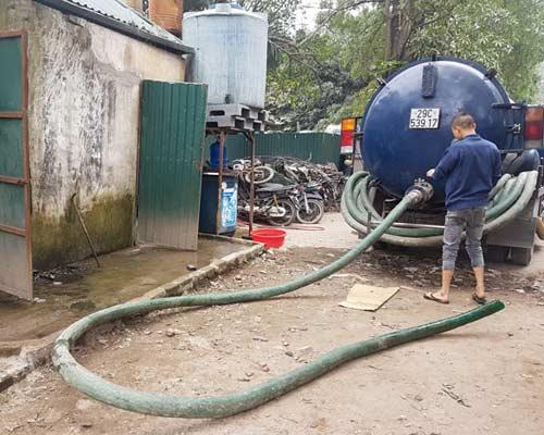 hút bể phốt tại Thanh Trì