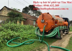 dịch vụ hút bể phốt tại Tân mai