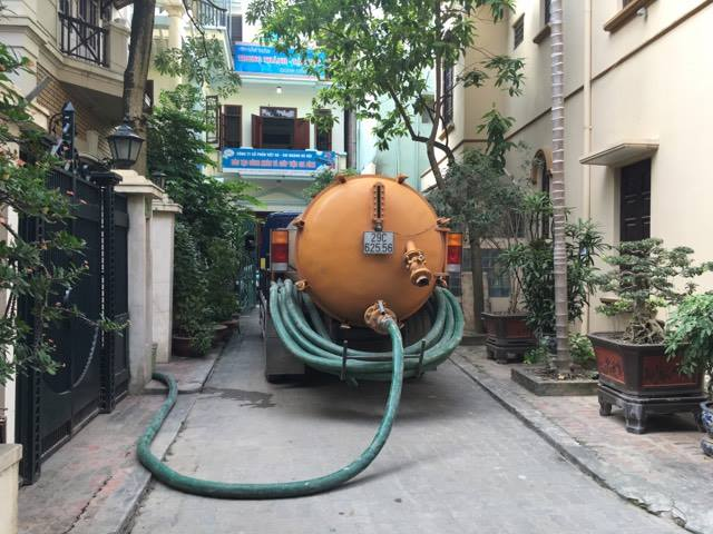 hút bể phốt tại Thanh Xuân.