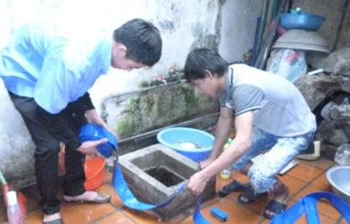hút bể phốt tại Tân Mai