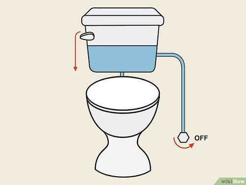 cách sửa bồn cầu bị rỉ nước