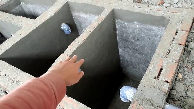 Tại sao cần chọn vị trí đặt bể phốt trong nhà ống