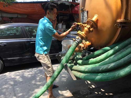 hút bể phốt tại Phú Xuyên
