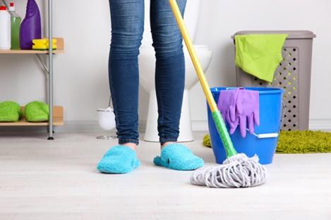 Khử mùi hôi nhà vệ sinh chung