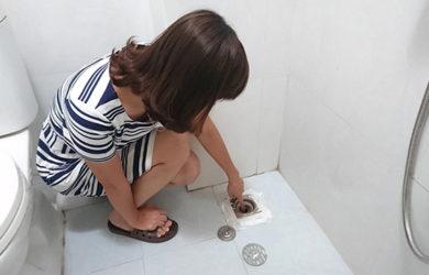 Khử mùi nhà vệ sinh
