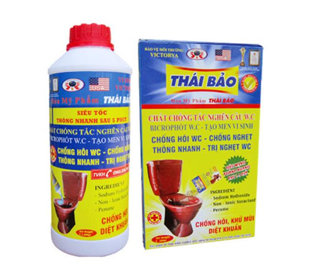 Nước thông cống Thái Bảo