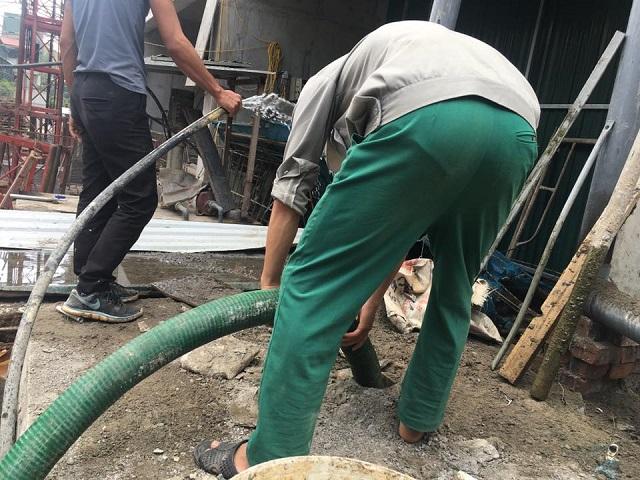 Dịch vụ hút bể phốt tại Thái Nguyên tuyệt đối không phát sinh chi phí