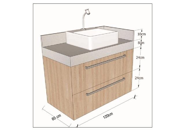 Kích thước lavabo theo vị trí như thế nào?