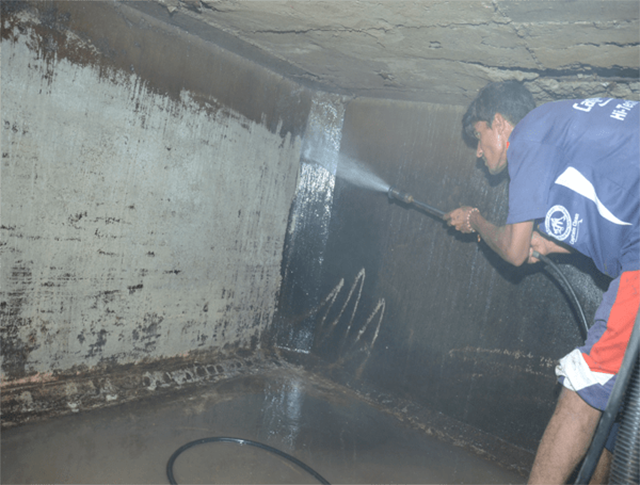 Cách tự thau rửa bể nước tại nhà