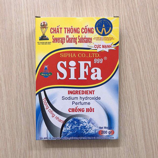 Bột thông cống Sifa