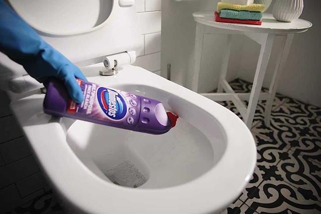 cách vệ sinh bồn cầu 1