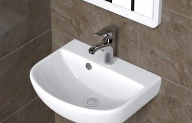 Cách lắp lavabo treo tường