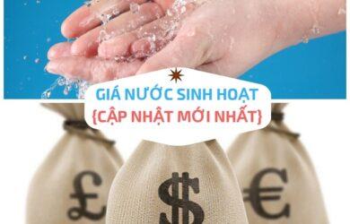 cách tính tiền nước