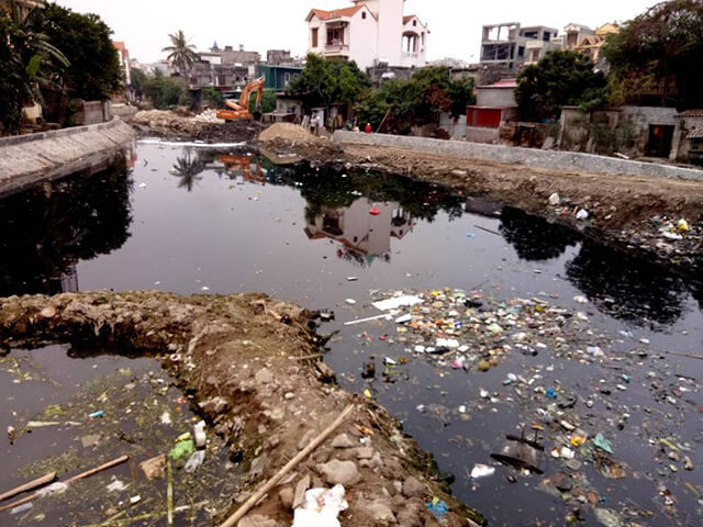 Ô nhiễm nước là gì?