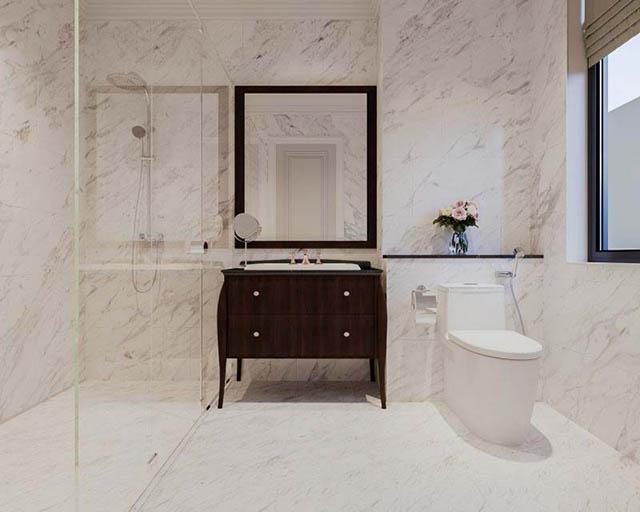Cách làm rộng không gian nhà vệ sinh