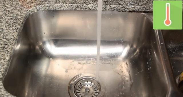 Sử dụng nước nóng