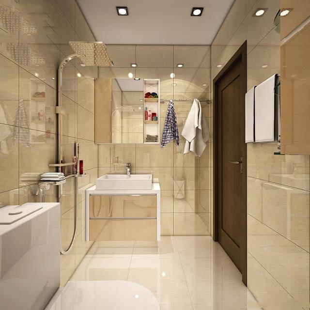 Đặc điểm của nhà vệ sinh cho nhà ống