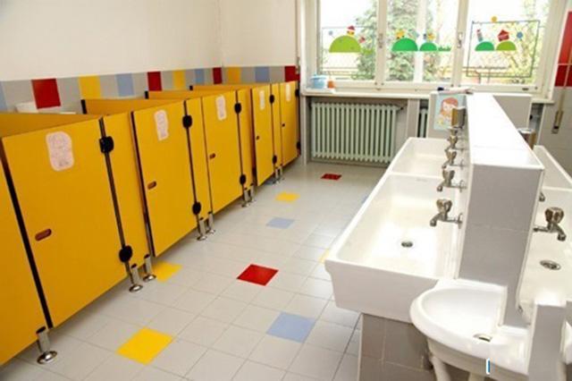 Diện tích nhà vệ sinh trường học