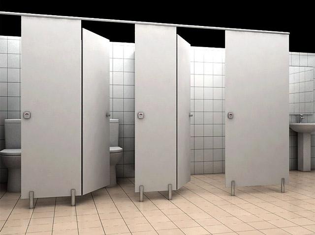 Kích thước tiêu chuẩn nhà vệ sinh cho công nhân